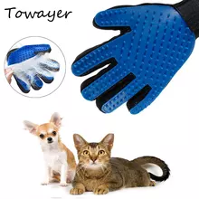 Cat Dog Grooming Glove Removes Hair